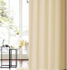 Solid beige shower curtain 1.8mx2m new free shipping