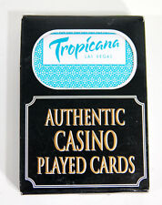 1 Deck Authentic Played Cards from The Tropicana Casino Las Vegas, Nevada