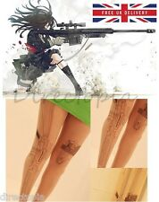 Anime Japan Gun Girl Tights - Kawaii - Harajuku - Cosplay - One Size