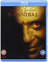 Hannibal - Anthony Hopkins, Ray Liotta, Ridley Scott NEW NEW BLU-RAY REGION FREE