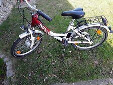 Fahrrad 20 Zoll Mädchenfahrrad Pegasus  rot weiß