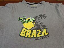 Brazil  T-Shirt Adult  Medium  Come To Paradise  Muito Quente  W2