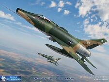 ART PRINT: F-100 Super Sabre - Print by Shepherd