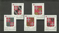 SMOM 1979 Coats of arms of the Grand Masters - 1st series  MNH