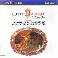GO FOR BAROQUE VOL 1 - RCA CD (1989) I SOLISTI VENETI; PAILLARD CHAMBER ORCH