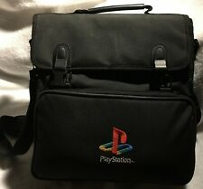 Official Vintage Sony Playstation One PS1 Travel Messenger Bag Carry Case Padded
