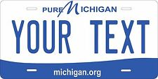Michigan 2013 License Plate Tag Personalized Auto Car Custom VEHICLE OR MOPED