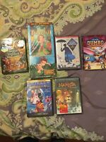 Disney DVDs Lot Jungle Book, Tarzan II, Mary Poppins, Dumbo, Brave, And More