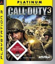 Playstation 3 CALL OF DUTY 3 *Neuwertig