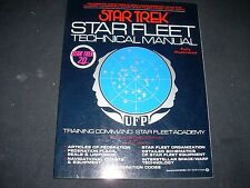 Star Trek Star Fleet Technical Manual Book Fe 13th ptg 1975 Ex Nos