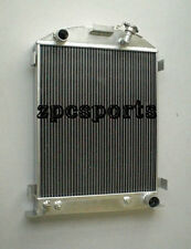 32 Aluminum Radiator Chevy Engine 1932 Ford Grill Shells 3 Row 76mm AT/MT