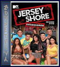 JERSEY SHORE - COMPLETE SEASON 5  *BRAND NEW DVD *