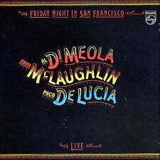 "Al Di MEOLA John McLAUGHLIN Paco de LUCIA - ""Friday Night In San Francisco"" - CD"