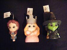 Hallmark Wizard of Oz  Set of 3 Christmas Tree Ornaments 2016