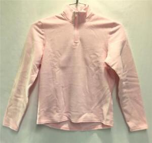 Hot Chillys Youth Pepper Fleece Base Layer Top Light Pink Kids Large NEW