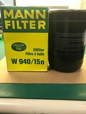 MANN FILTER W940/15N Oil Filter (without O-ring)
