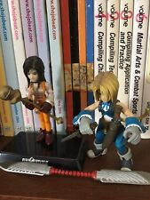 Bandai Final Fantasy IX Extra Soldier I DAGGER & ZIDANE Figure 2000 - LOOSE FIGS