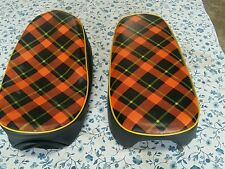 HONDA(n7)  Z50M SEAT COVER RED TARTAN STYLE  BEST QUALITY  (HS114)