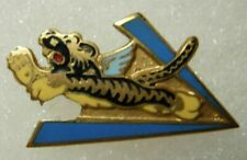 WW2 AVG / Flying Tigers Enameled Pin - American Volunteer Group - CB