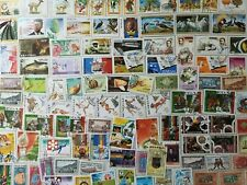 500 Different Senegal Stamp Collection