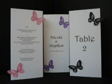 Wedding Place Cards with Less than 10 Items