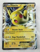 Pikachu EX ULTRA HOLO RARE XY174 Promo Pokemon Card TCG NM