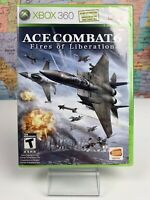 SHIPS SAME DAY Ace Combat 6 Fires of Liberation Microsoft Xbox 360 2007 Rare New