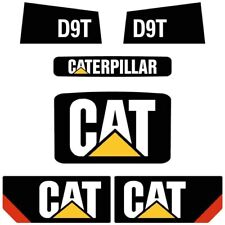 Decal Sticker Set CAT D9T Bulldozer Decal Set