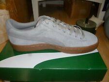 Puma Basket Classic Elephant skin Gum Suede Weatherproof trainers.New.Size 6