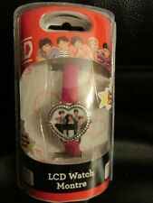 One Direction LCD Heart Watch Pink Strap New