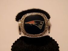 STERLING SILVER NEW ENGLAND PATRIOTS RING SIZE 9 WAS $220