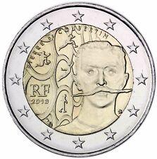 Frankreich 2 Euro Münze Baron Pierre de Coubertin 2013 Gedenkmünze bankfrisch