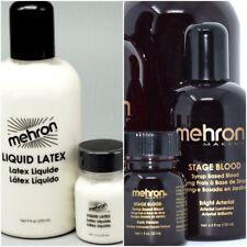 Mehron Stage blood and Liquid Latex set