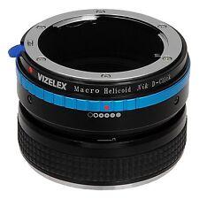Fotodiox objetivamente adaptador pro macro perfectamente Helicoid Nikon G para Cámara Nikon