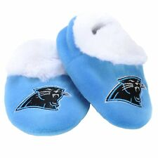 Carolina Panthers Logo Baby Bootie Slipper Extra Large