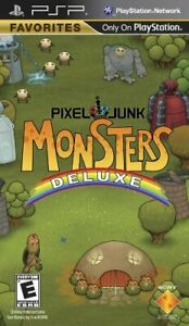 Pixel Junk Monsters Deluxe - Sony PSP NEW! NEW!
