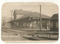 WMRR Western Maryland Railway Depot WALBROOK MD BALTIMORE Railroad Station Photo