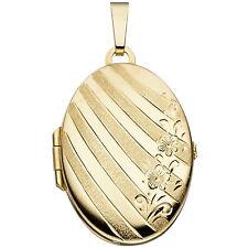 Medaillon 333 Gold Gelbgold H 30,9 mm Medallion Medaillion Medalion Amulett