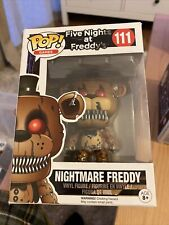 Five Nights at Freddy's Pop! Funko Nightmare Freddy Vinyl Figure N° 111