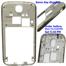 Samsung Galaxy S4 I9500 I9505 Housing Middle Frame Chassis Bezel With Silver
