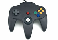 2x Nintendo 64 N64 Games Classic Gamepad Controllers for USB to Pc/mac Black