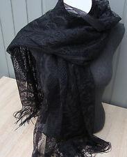 wunderschönes Tuch/Schal in schwarz neu zu verkaufen