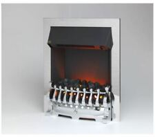 Flamerite Stanford Silver Coal Electric Fireplace