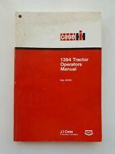 CASE/IH 1394 TRACTOR OPERATORS MANUAL