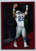 "1995  EMMITT SMITH - Score ""RED SEIGE"" Football Card # 10 - DALLAS COWBOYS"