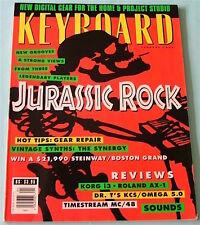 1994 Jon Lord, Al Kooper, Synergy Synth, KORG i3, Roland AX-1, Keyboard Magazine