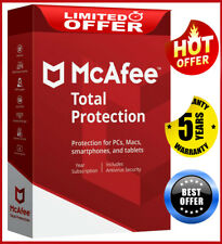 McAfee Total Protection 2020 10 Device 5 Year Antivirus Ínstant dєlivєry📥