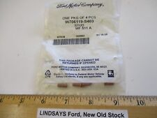 "4 UNOPENED PCS IN 1 FORD BAG ""STUD"" (WELD PIN) PART W706119-S403 FREE SHIPPING"