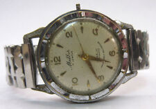 MENS VINTAGE MILBER STAINLESS STEEL AUTOMATIC WRIST WATCH - WORKING **