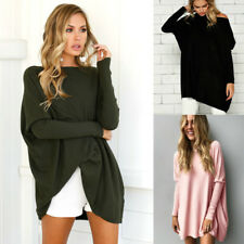 Femmes Mesdames poncho chaud Pull en mailles pull Cape avec manches